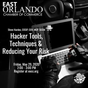 Hacker Tools, Techniques and Reducing Your Risk