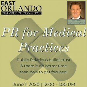 PR for Medical Practices with Keith Landry