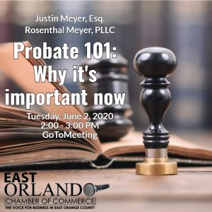 Probate 101 - Why its important now with Justin Meyer
