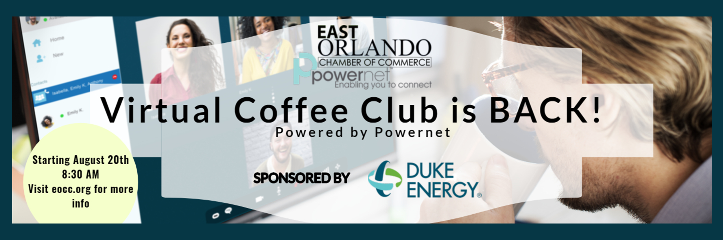Coffee Club is BACK - Virtually