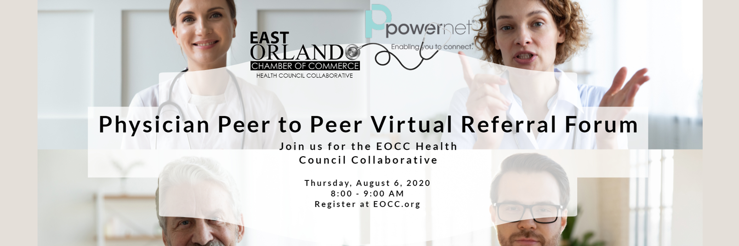Physician Peer to Peer Virtual Referral Forum