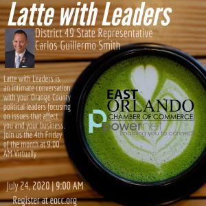 Latte with Leaders FL Representative Carlos Guillermo Smith