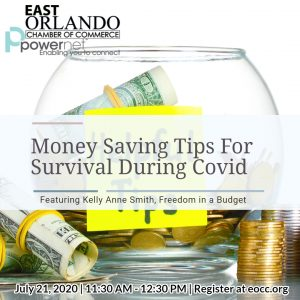 Money Saving Tips for Survival during Covid with Kelly Anne Smith