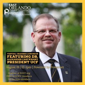EOCC Luncheon UCF President Dr. Alexander Cartwright
