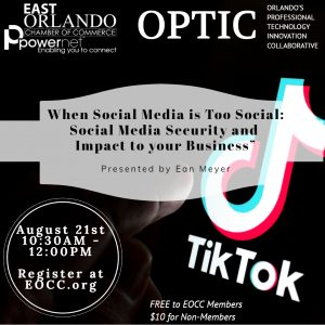OPTIC Social Media Security for your Business