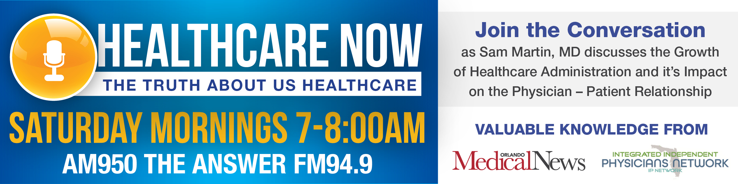 Healthcare Now Radio Show
