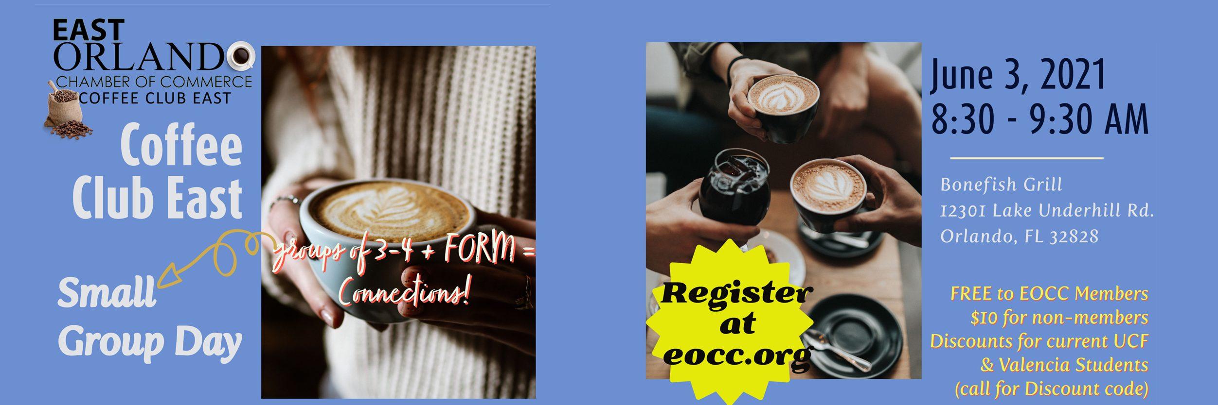 Coffee club East June 2021