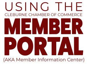 Using the Member Portal