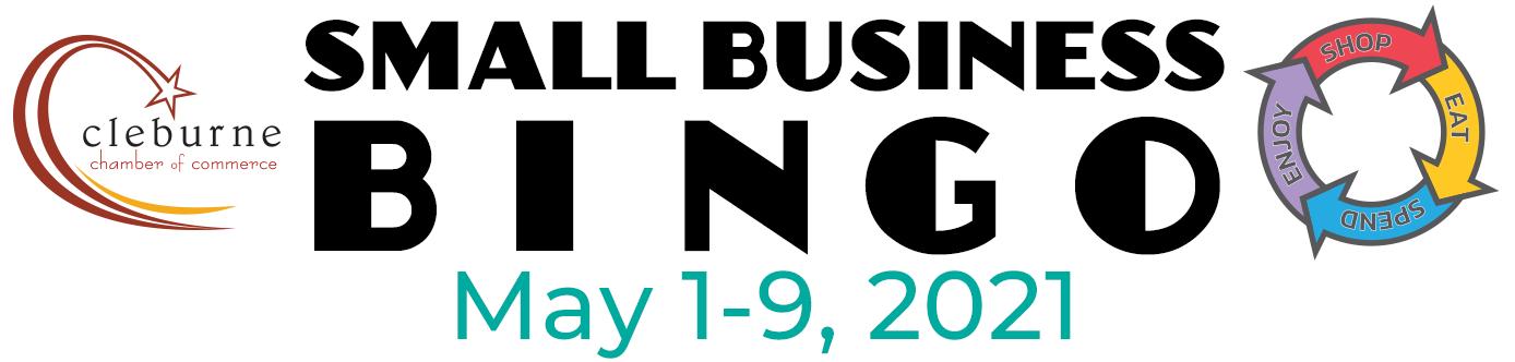 Small Business Bingo May 1-9, 2021