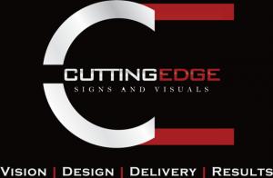 CESV Logo black background