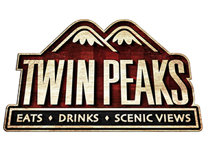 Twin Peaks_Wood Logo_Plaid
