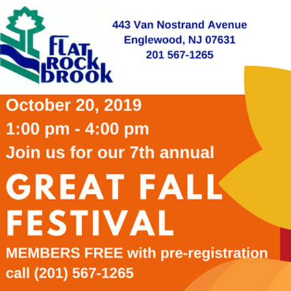 2019-10 Flat Rock Brook Fall Event Square