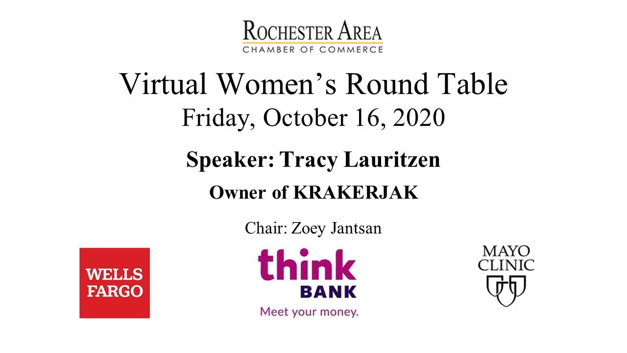 Oct Virtual Women's Round Table Slide
