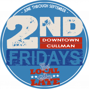 2nd Fridays Logo Cullman