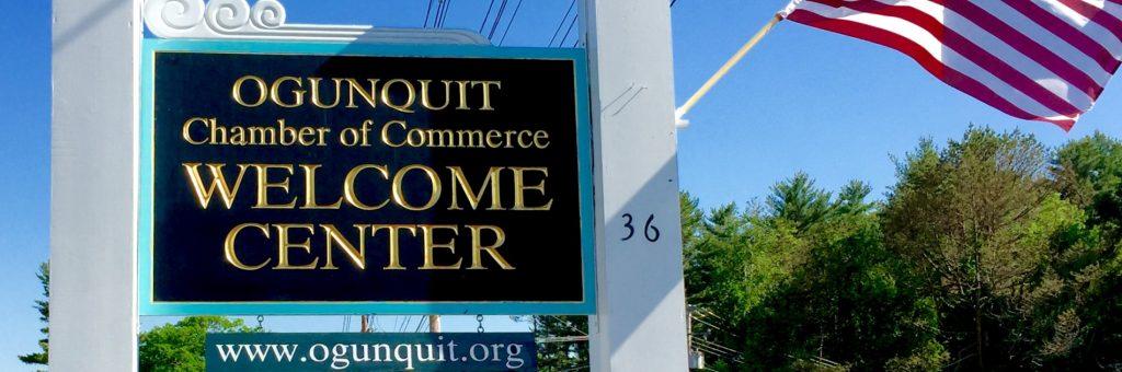Ogunquit Chamber sign