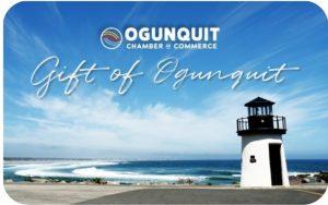 Gift of Ogunquit Card Design