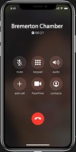 Bremerton Chamber of commerce phone