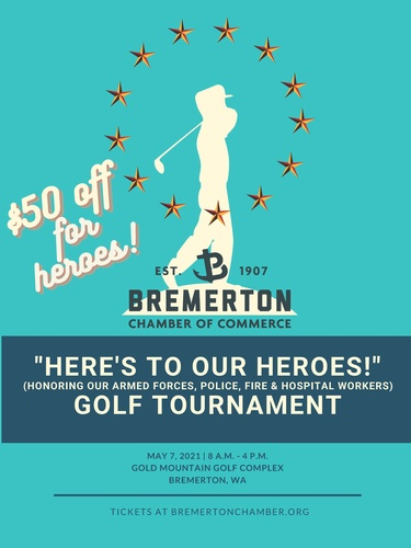 """HERE'S TO OUR HEROES!"" GOLF TOURNAMENT"