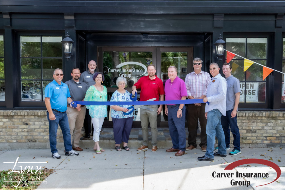 Carver Insurance Ribbon Cutting