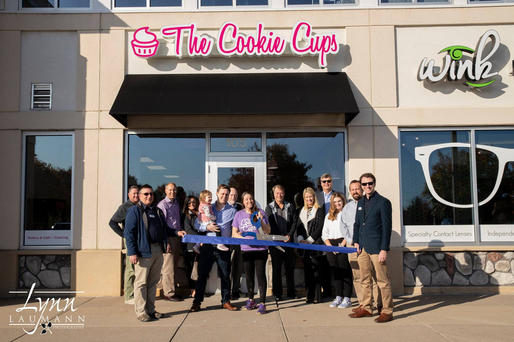 The Cookie Cups Ribbon Cutting