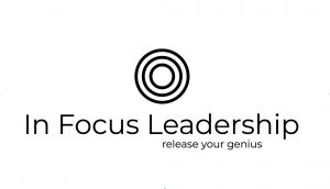 In Focus Leadership Logo bullseye
