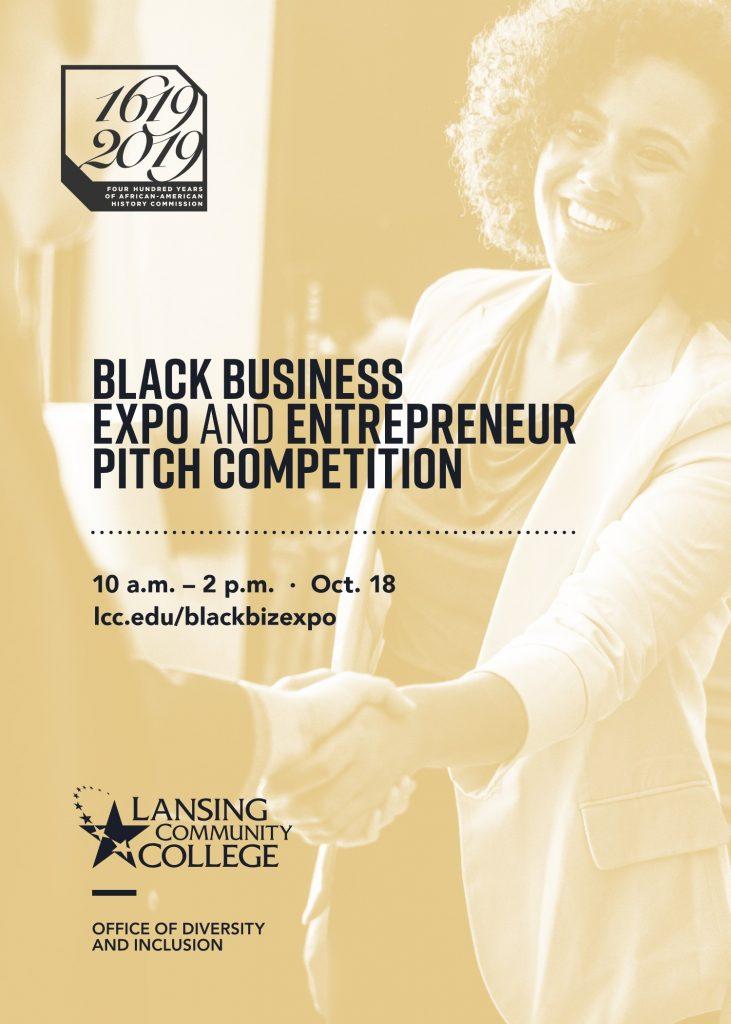 LCC's Black Business Expo flyer