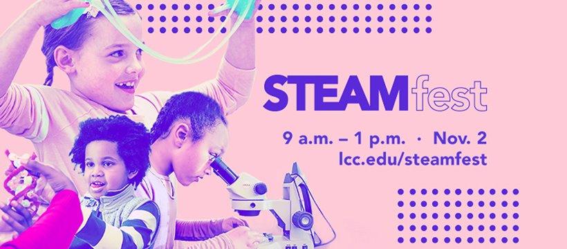 STEAMfest flyer
