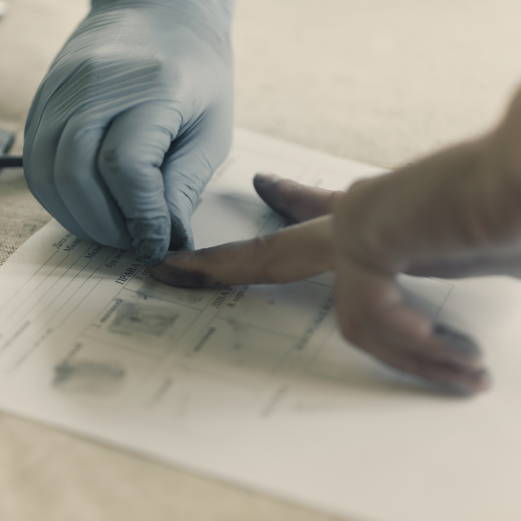 Insurance Producer Licensing Fingerprints