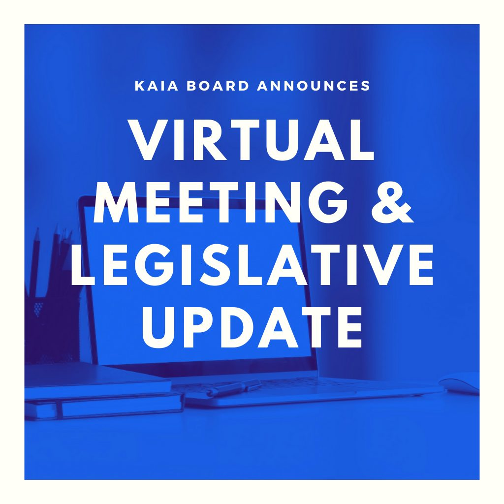 Virtual Meeting Announced image