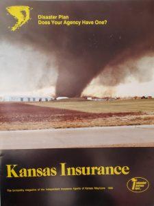 Hesston Tornado magazine cover