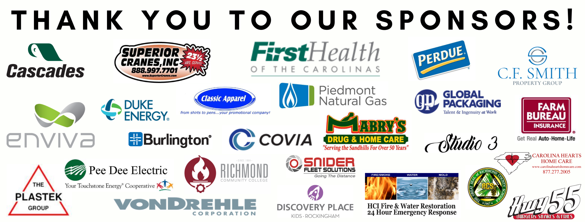 Thank you to our sponsors! (3)