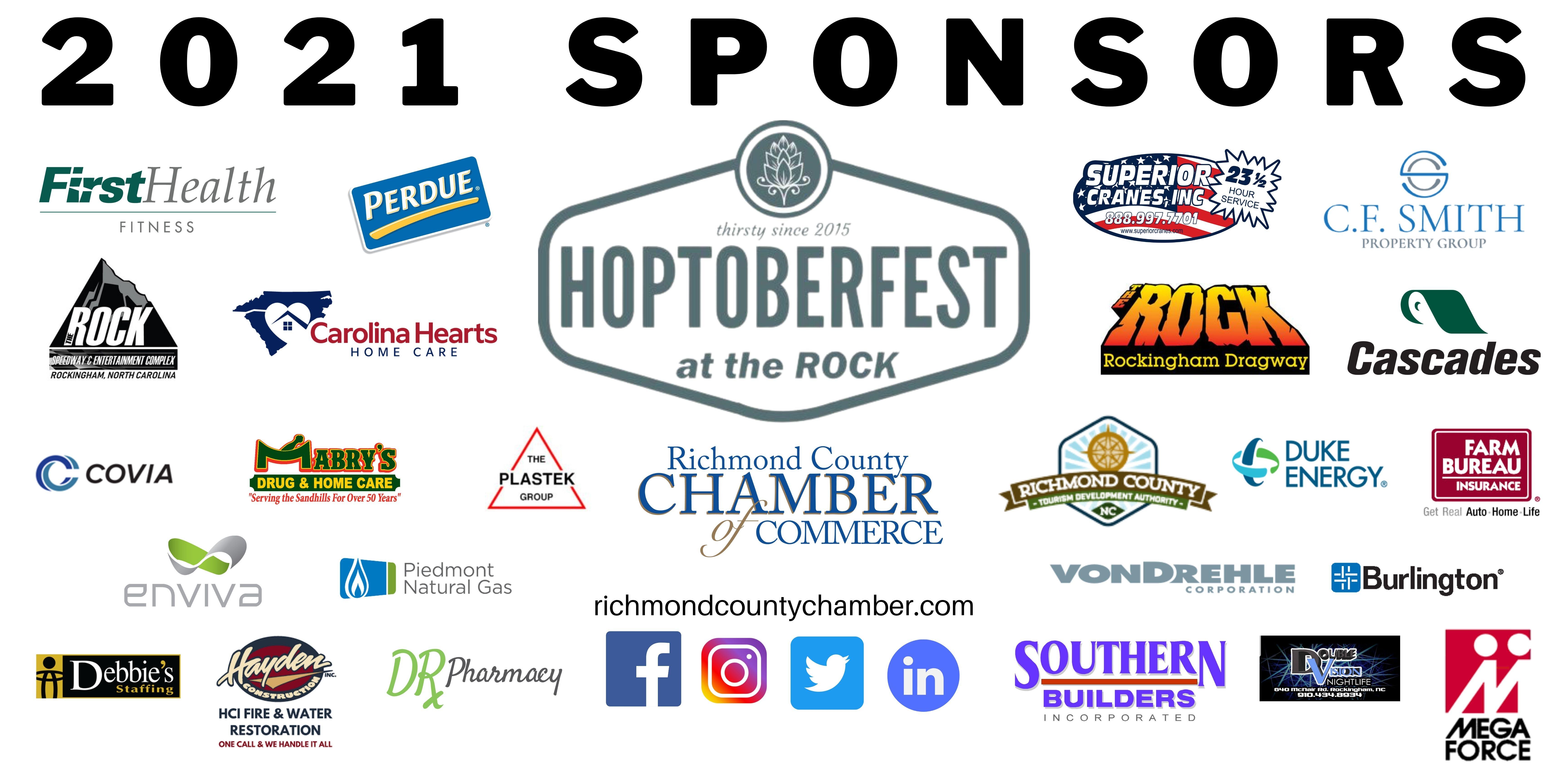 Hoptoberfest Sponsors
