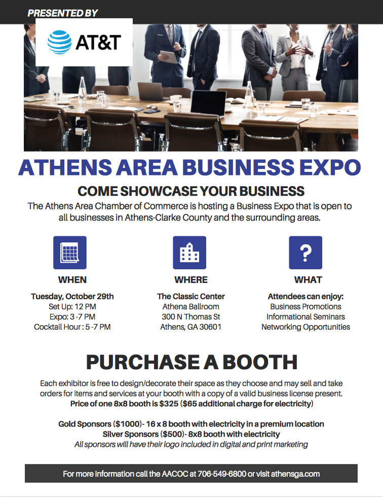 BUSINESS EXPO FLYER