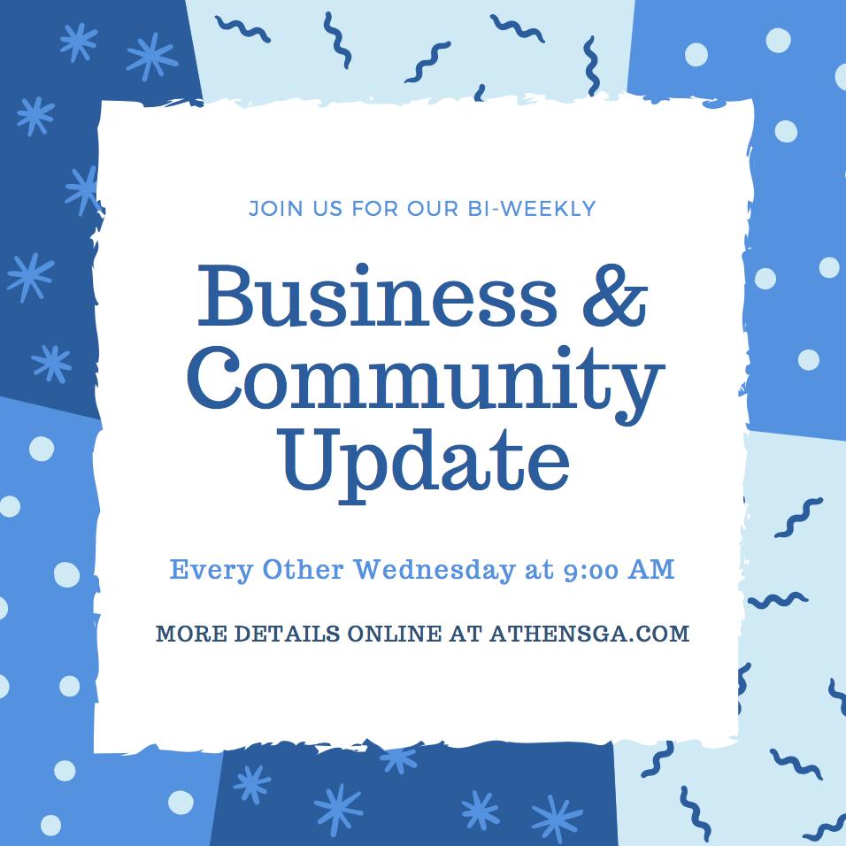 Business & Community Update