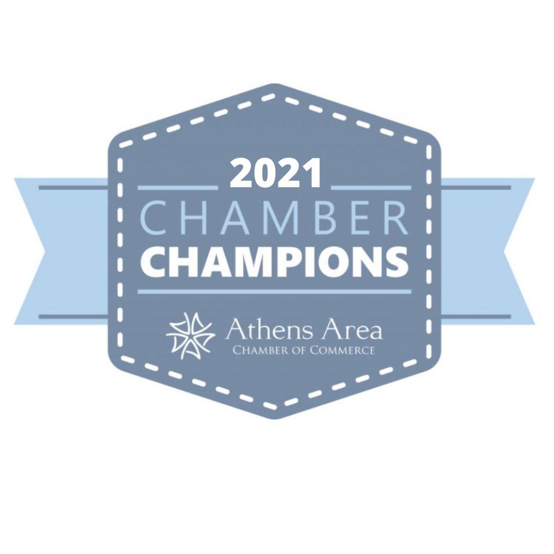 2021 Chamber Champions Logo