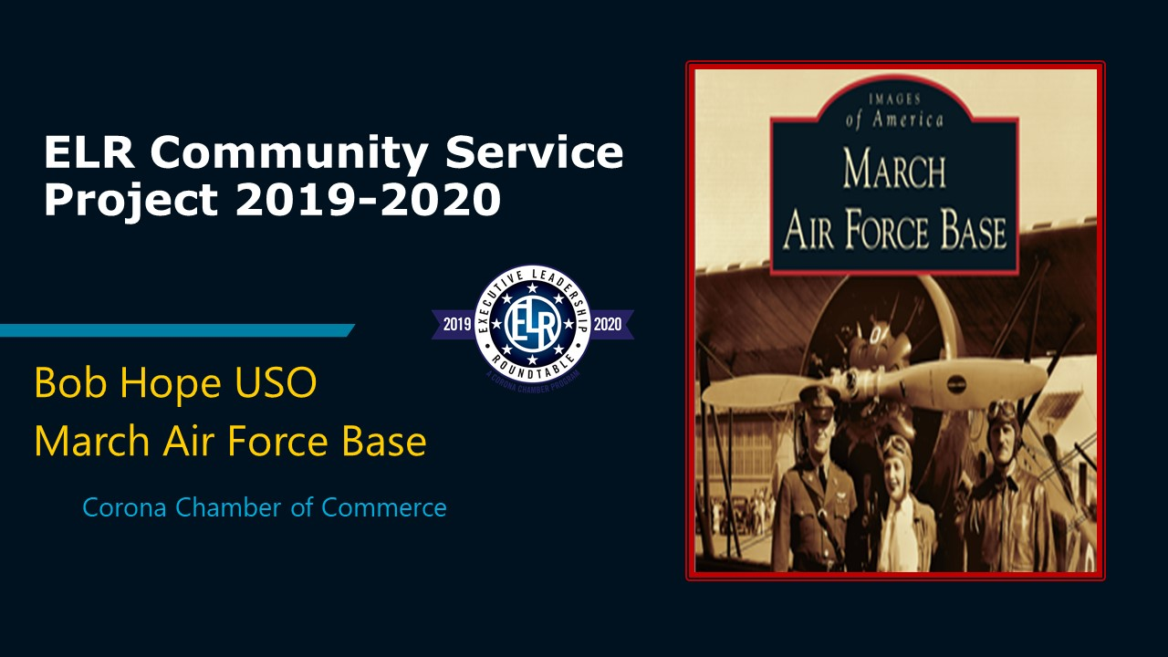 ELR Community Service USO (Dec 13 PPT) COVER PAGE
