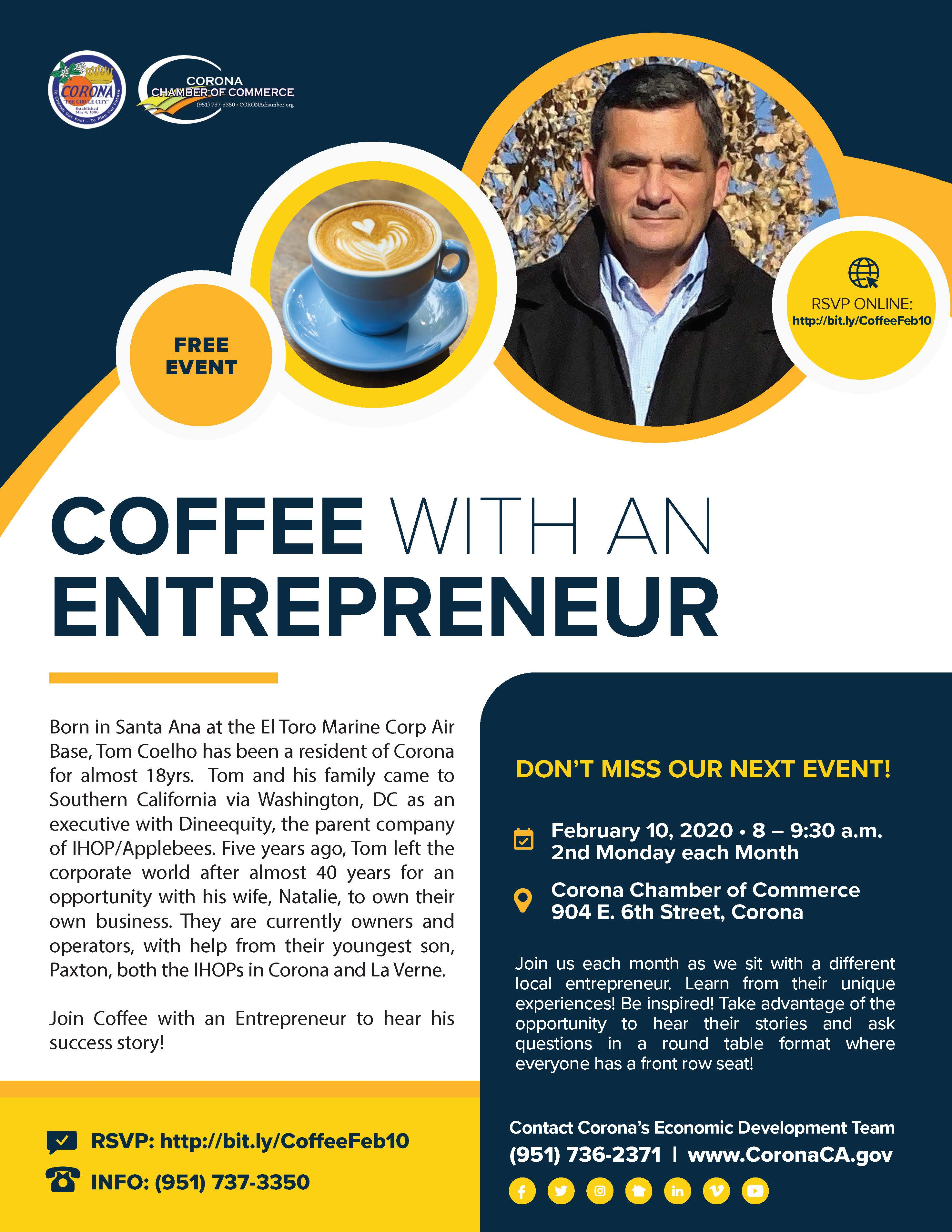 Coffee with an Entrepreneur 2.20
