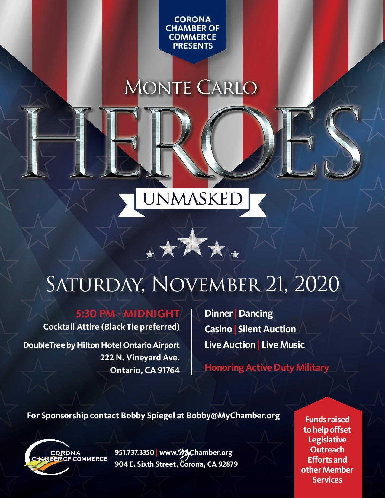 Heroes Unmasked Flyer