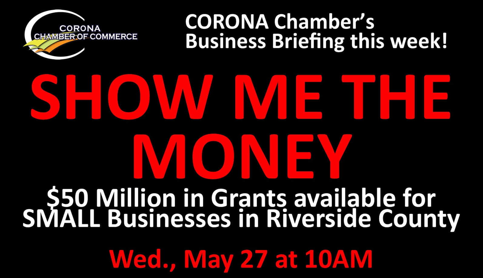 Opening Slide SHOW ME THE MONEY 05.27.2020