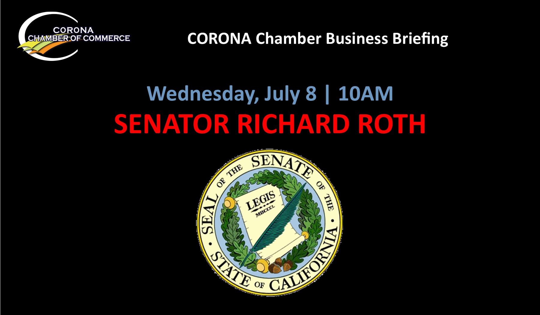Slide, Opening Title, Senator Roth