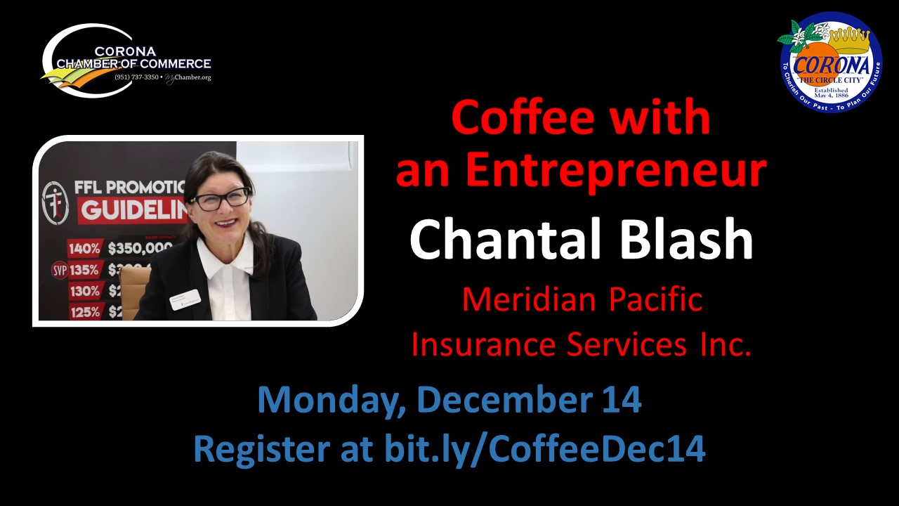 Coffee with an Entrepreneur Dec 14 2020