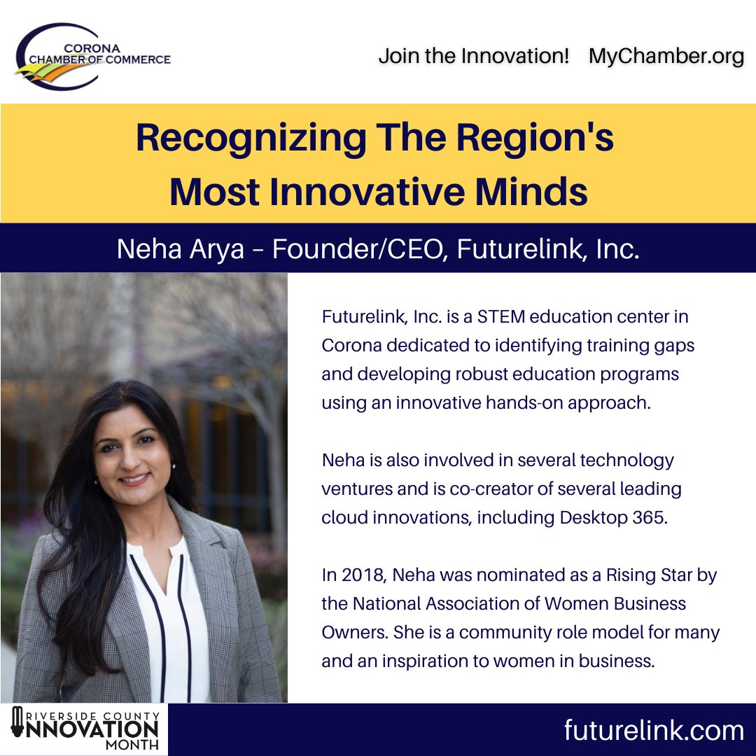 Innovation Month Innovators 5 Neha Arya