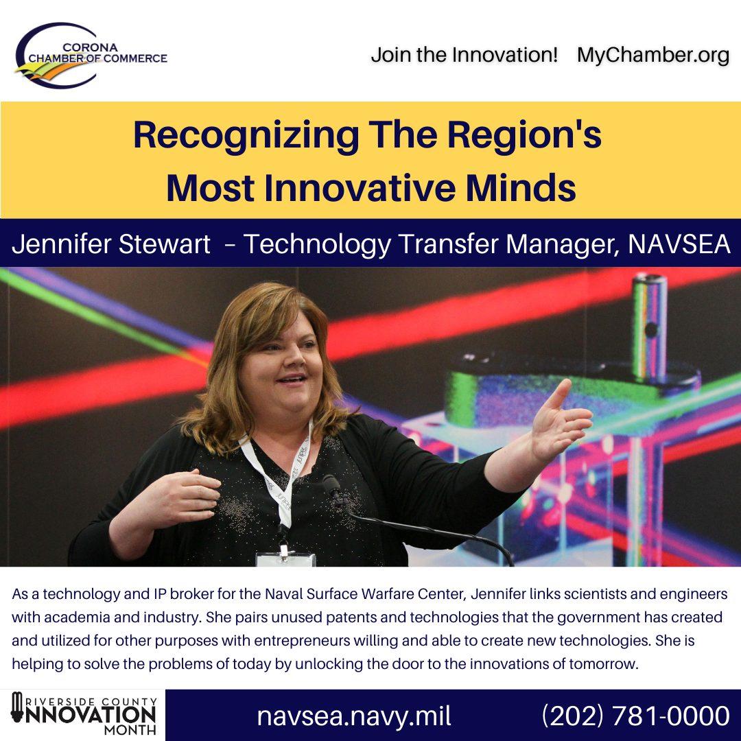 Innovation Month Innovators 8 Jennifer Stewart