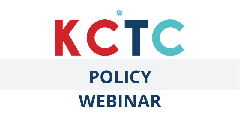 KCTC Policy Update with the President Logo