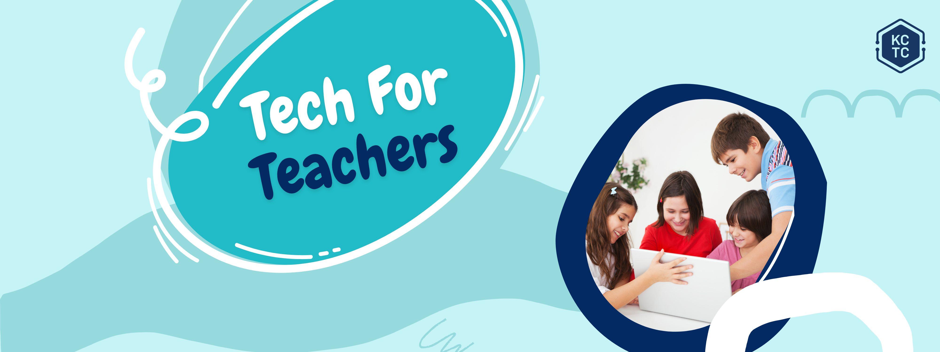 Tech For Teachers Website Banner