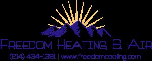 Freedom Bolded Logo with info