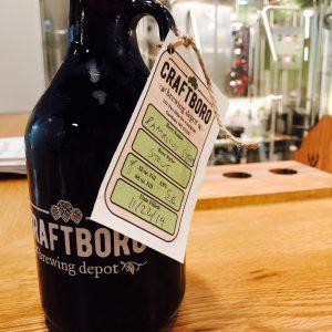 Craftboro Brewing Depot Growler