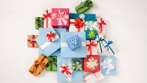 presents a