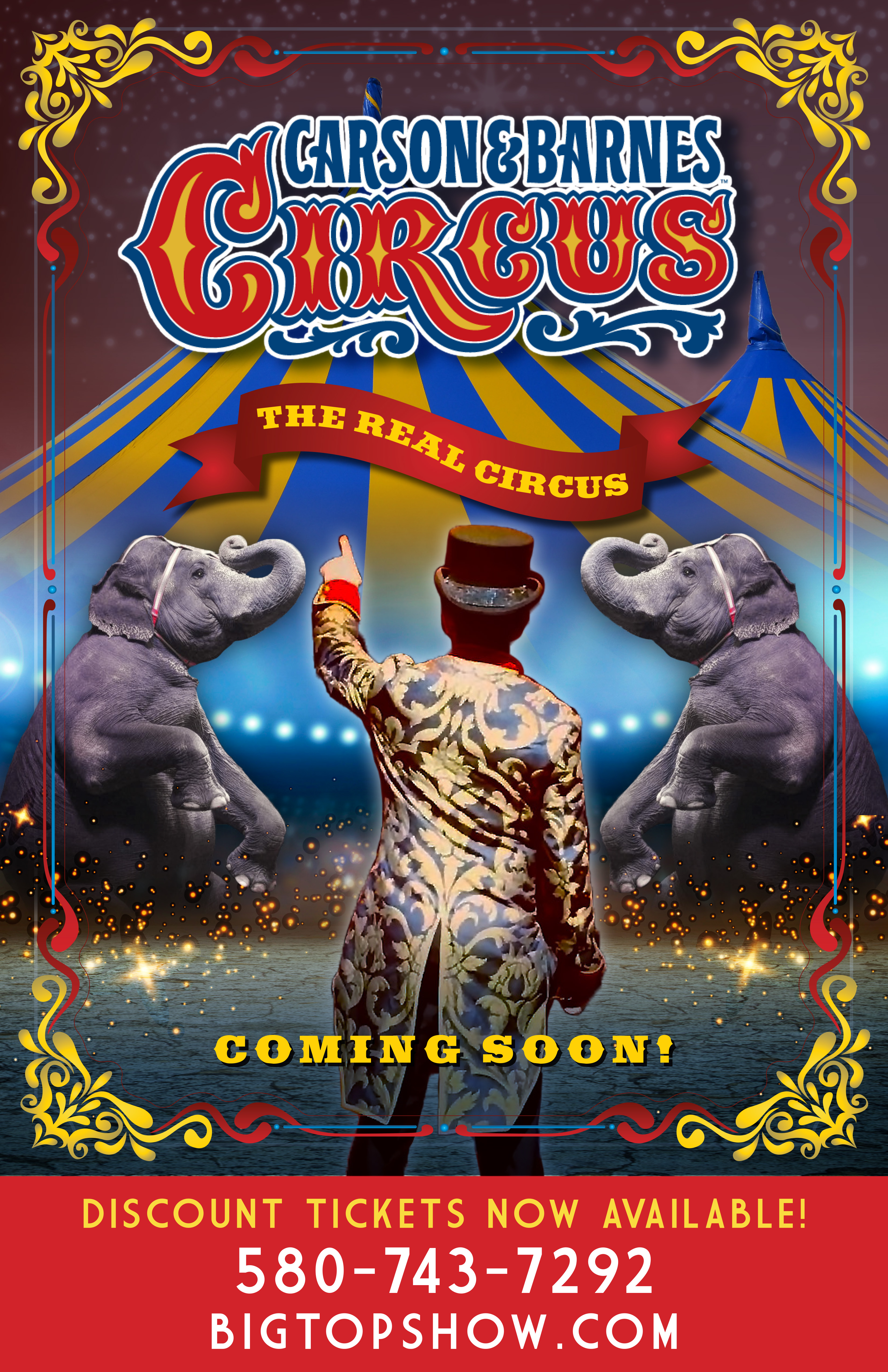 POSTER - The Real Circus