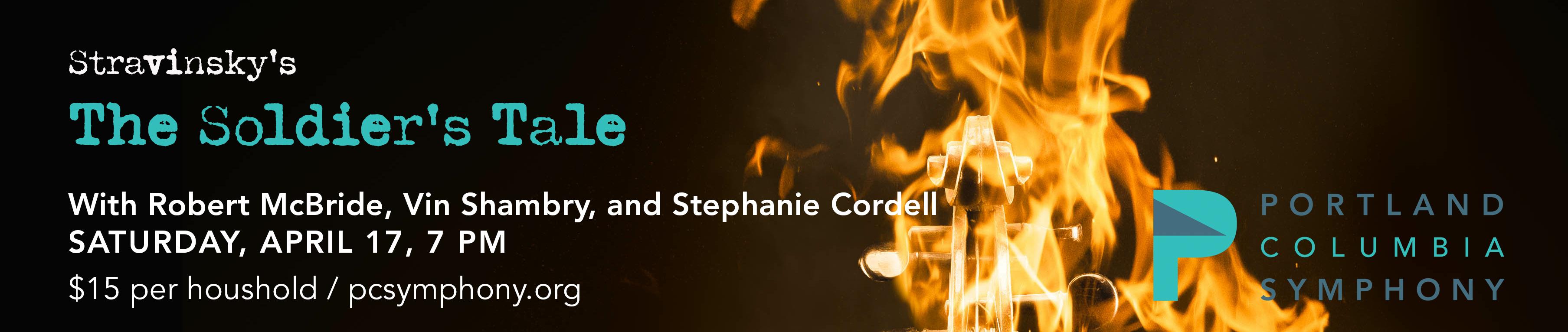 Portland Columbia Symphony Soliders Tale